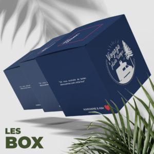 Les Box voyageur - Voyageapleintemps